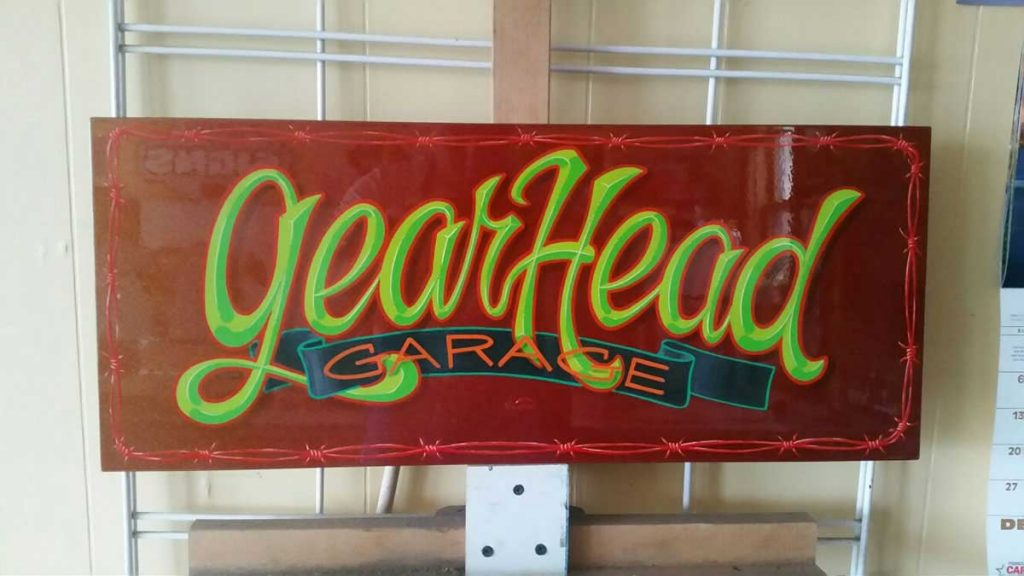 Signtastic Signs handpainted sign